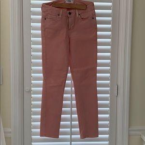 Paige denim Verdugo Ankle Jeans. 27. Pink Poppy